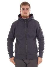 CMP giacca di pile cardigan giacca funzionale grigio con cordino TRASPIRANTE
