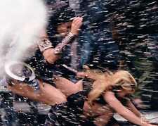 Xena Photo Club July 2002 Jul 02 photograph Xena & Gabrielle showered by debris