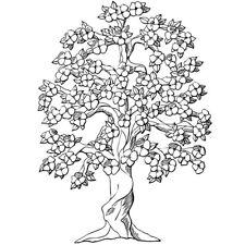 Sticker Géant XXL Arbre Cerisier en fleur,  60x43 cm à 80x58 cm, (ARB011)