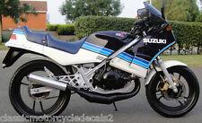 SUZUKI RG250 MK2 DECAL SET 1985