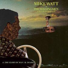 """Mike Watt & Missingmen Live In Ferndale 7"""" Vinyl Record non lp songs! minutemen!"""