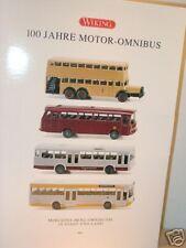 Wiking mercedes 100 ans Moteur-Omnibus-set 990 05 - 1/87