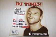 APRIL 2005 DJ TIMES music magazine SANDER KLEINENBERG