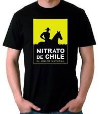 Camiseta Hombre Nitrato De Chile-Retro 80's EGB t-shirt manga corta