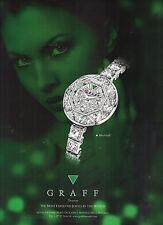 PUBLICITE ADVERTISING  2012    GRAAF    bijoux joaillerie BABY GRAAF