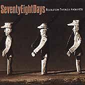 Audio CD Revolution Through Anonymity - Seventy Eight Days - Free Shipping