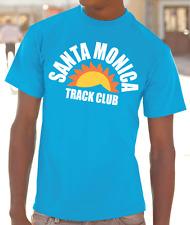 Santa Monica Track Club T-shirt -XS-3XL sprinting Carl Lewis Usain Bolt