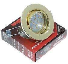 230 Voltios Techos empotrable Anillo LIA ORO 10 Gu10 SMD LED 3 vatios=25 vatios