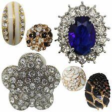 New Ladies Women Elegant Clip On Style Metal Alloy Designer Earrings Jewellery