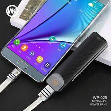 WKDESIGN mini batterie externe chargeur Portable mi Powerbank batterie externe