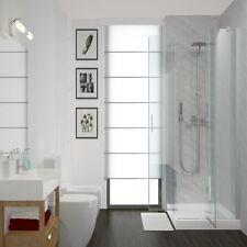 Aquabord Light Grey Marble 2 Wall Shower Kit 1m Wide PVC T&G Waterproof IPSL