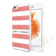 Raya Personalizado Teléfono Estuche Cubierta para Apple iPhone texto inicial Nombre Personalizado 5