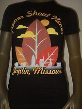 New Juniors Sm Black Never Shout Never Joplin, Missouri  Pop Rock Band Tee Shirt
