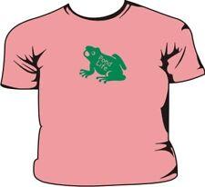 Pond Life Frog Pink Kids T-Shirt