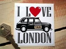 Me encanta Londres Adhesivo Taxi Estilo Clásico Auto Adhesivo