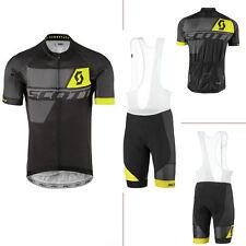 HL-N003 New fashion cycling clothes men's cycling jersey,bib shorts set gel pad