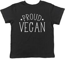 Orgulloso Vegano para niños Niños Chicos Chicas Tee T-Shirt