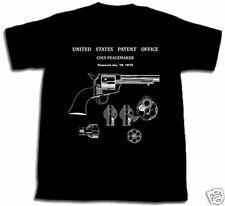 COLT PEACEMAKER PISTOL PATENT SHIRT gun S M L XL 2XL New Mason 45 Cal Gun Peace