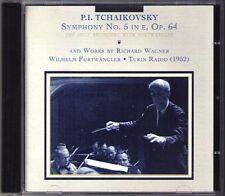 Wilhelm Furtwängler: Tchaïkovski Symphony No. 5 WAGNER SIEGFRIED CD Music & Arts