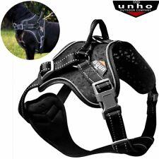 UNHO Heavy Duty-Padded Pet Dog Harness Large Medium Small Strap Soft Vest Collar