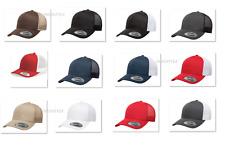 New for 2018!  Yupoong Retro Snapback Trucker Mesh Back Hat 5-Panel Cap - 6506