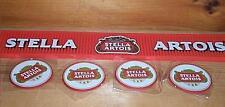 STELLA ARTOIS BEER LOGO BAR RAIL MAT & 4 BAR COASTERS NEW