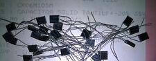CX06M105M 1uF 35 V 20% D caso solido Al Piombo Tantalio Condensatori