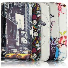 Housse Coque Etui Portefeuille pour Sony Xperia Z1 Motif