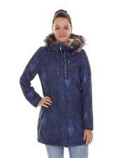 O'Neill Parka Function Coat Winter Coat BLAU Denim Print Frontier