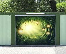 3D Luce Foresta 40 Garage Porta Stampe Parete Decorazione Murale AJ WALLPAPER IT