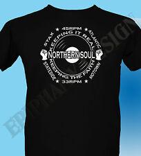 Northern Soul Homage T-Shirt Mens 60's Music Mod Larger 3XL 4XL 5XL Original 70s