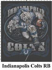 NFL Indianapolis Colts Mascot cross stitch pattern