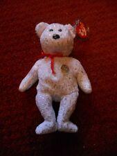 Ty 10th Anniversary Bear - White