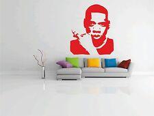 Jay-Z PARED PEGATINA VINILO con imagen GRANDE ADHESIVO RAPERO HIP HOP JZ Jay Z