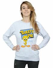 Looney Tunes Women's Classic Tweety Pie Sweatshirt