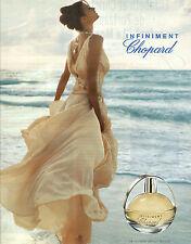 PUBLICITE PAPIER  2010    CHOPARD  parfum  INFINIMENT                     221212