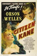 Ciudadano Kane Vintage Movie Poster Película A4 A3 Art Print Cine
