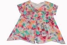 2pc set Garanimals Toddler Girl Short Sleeve shirt  and shorts multicolor NWT