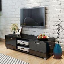 vidaXL TV Hifi Cabinet Sideboard Unit Stand High-Gloss Black 120x40.3x34.7 cm
