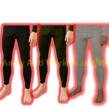 Térmica Ropa Interior largo Johns John Bottoms Pantalones suave calor Trampa De Tela Para Hombre