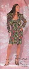 Jasdee Vintage Dress Jacket Hand Work Beaded & Hand Print on Silk Style 5005DJ