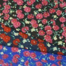 Sommer Abend Joy Blumen Polycotton Stoff (46)