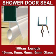 SHOWER SCREEN DOOR PLASTIC STOP WATER SEAL STRIP 10MM 8MM 6MM 5MM GLASS BK-SHAPE