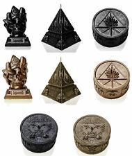 BEHEMOTH CANDLE Unholy Trinity /Skull / Phoenix - Black Metallic or Brass
