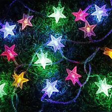 4M 40 LEDs Star Fairy String Curtain Light Wedding Party Home Garden Decor Lamp