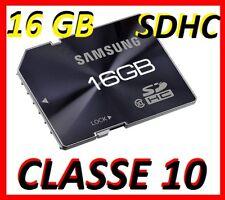 MEMORY CARD SAMSUNG CLASSE 10 16GB 16 GB SDHC SD HC 6