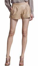 Women Leather Sport Shorts Hot Pants High Waist Club wear Sexy Fashion WSAU009