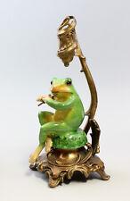 Leuchter Neufertigung Kerzenhalter Skulptur Frosch mit Flöte 6233042