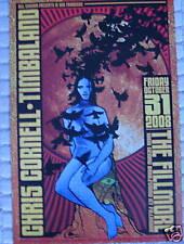 CHRIS CORNELL FILLMORE POSTER Timbaland (Soundgarden) ORIGINAL F976 Chuck Sperry