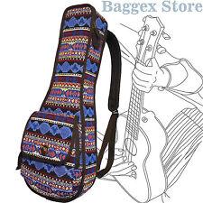 "23"" Concert Bohemia Pattern Tribal Fabric Ukulele Gig Bag Sling Bag"